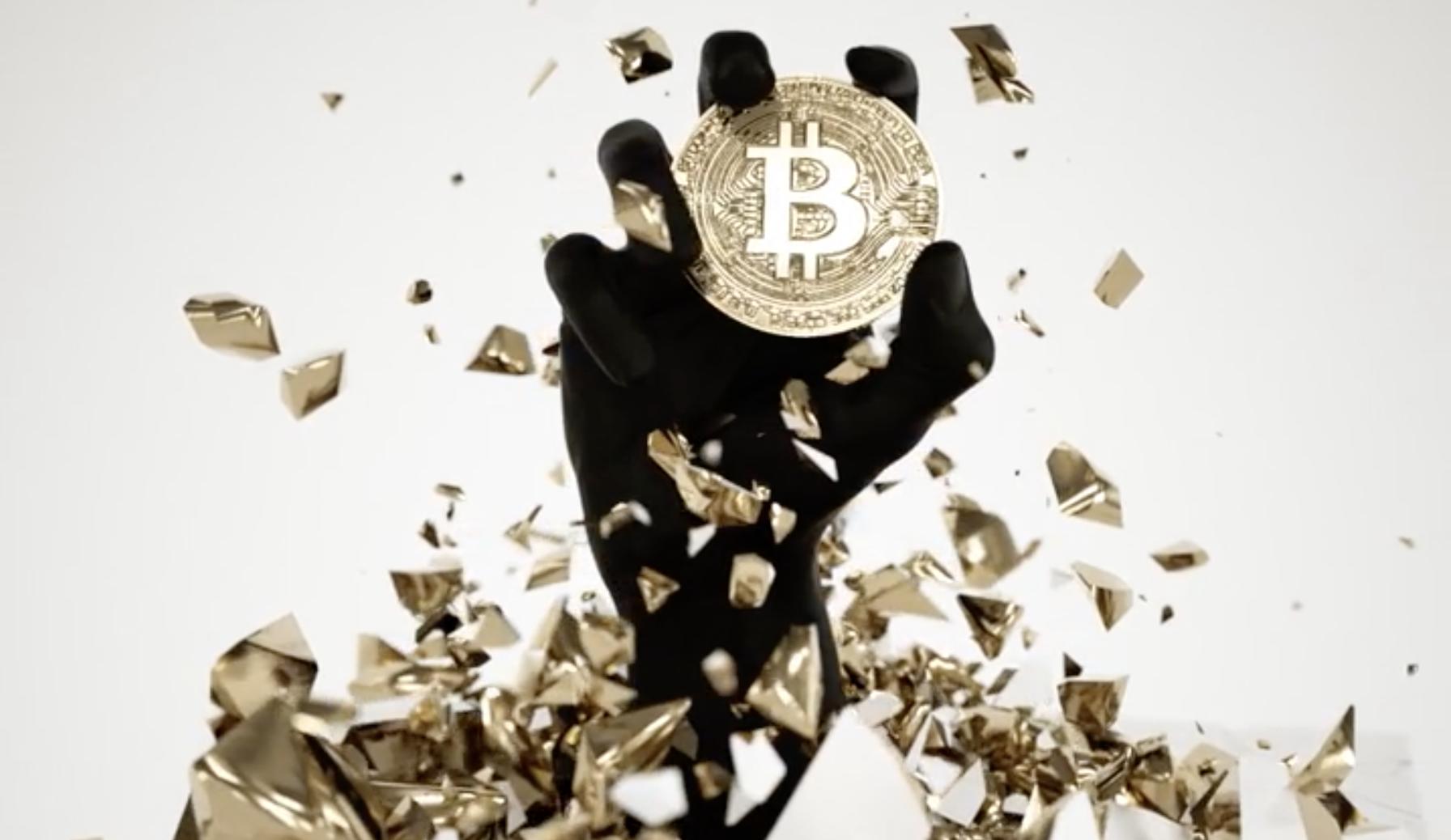 Bitcoin hodl art, Jan 2021