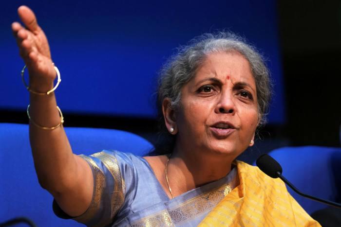India finance minister