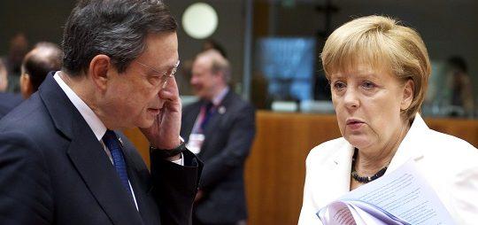 Merkel meets Draghi in 2013