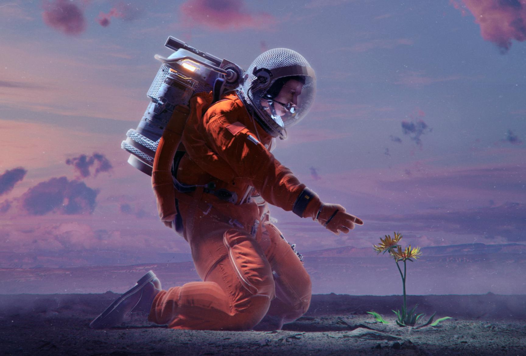 Beeple, bringing life to Mars