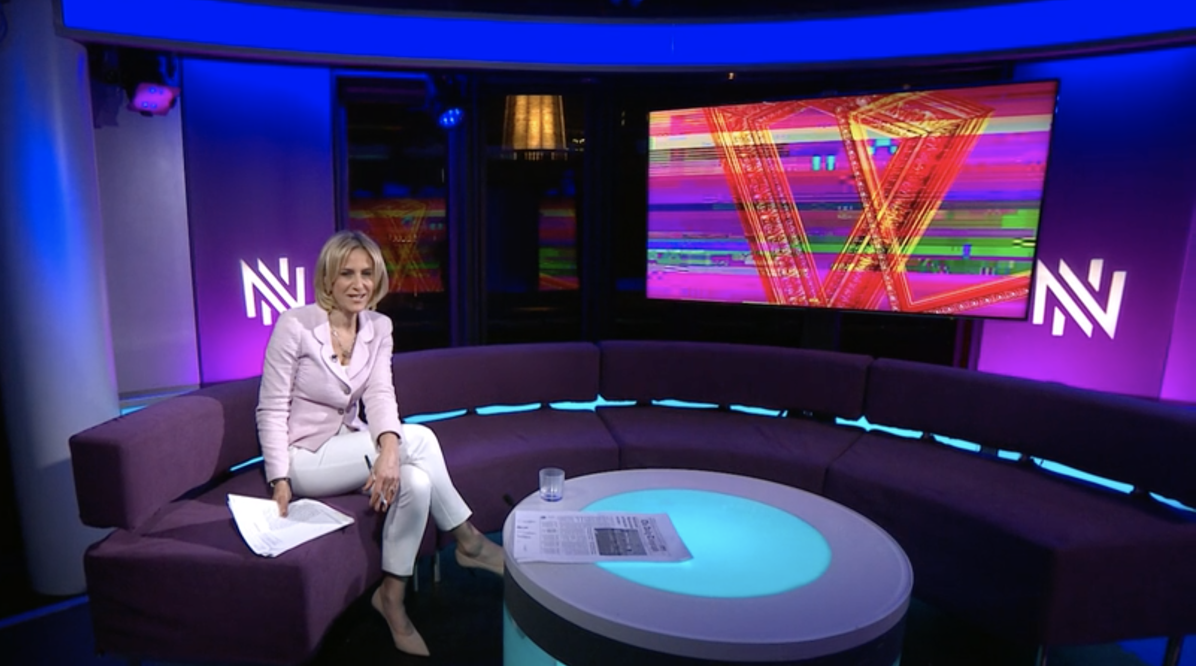 Newsnight features NFTs, March 2021