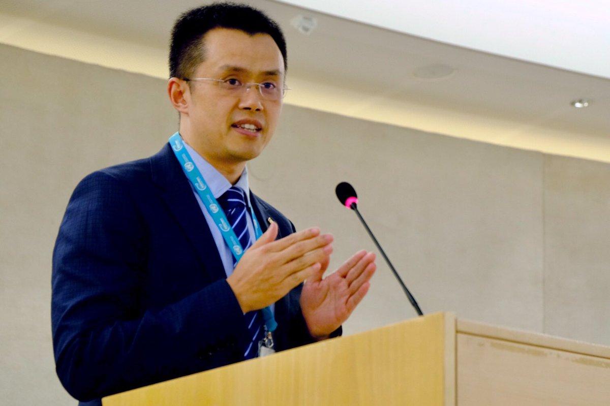 Changpeng Zhao of Binance at WIF 2018