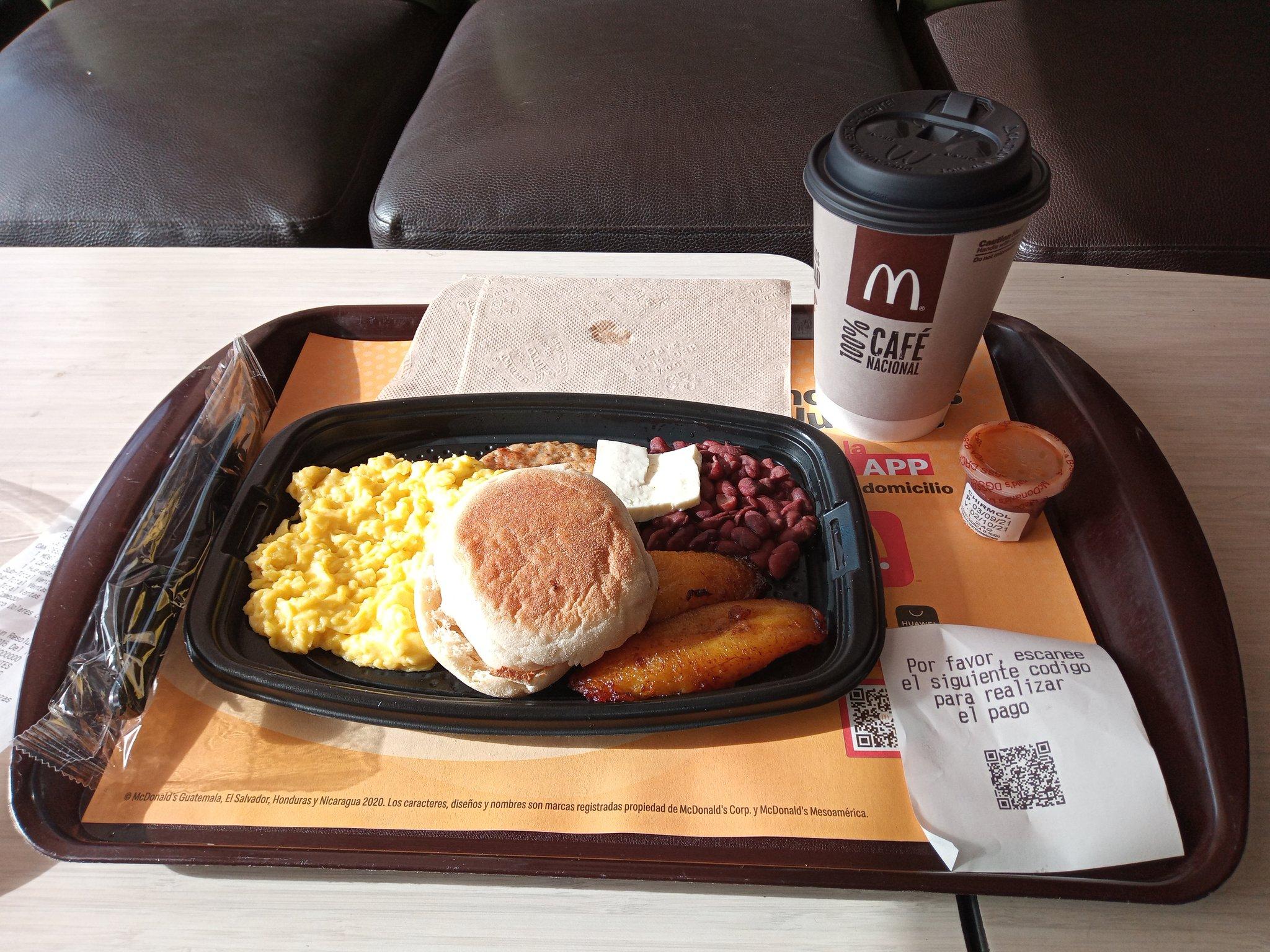 Bitcoin paid McDonald's meal in El Salvador, Sep 2021